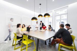 Salle de réunion au LABO Coworking